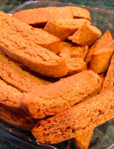 delicious gingerbread biscotti