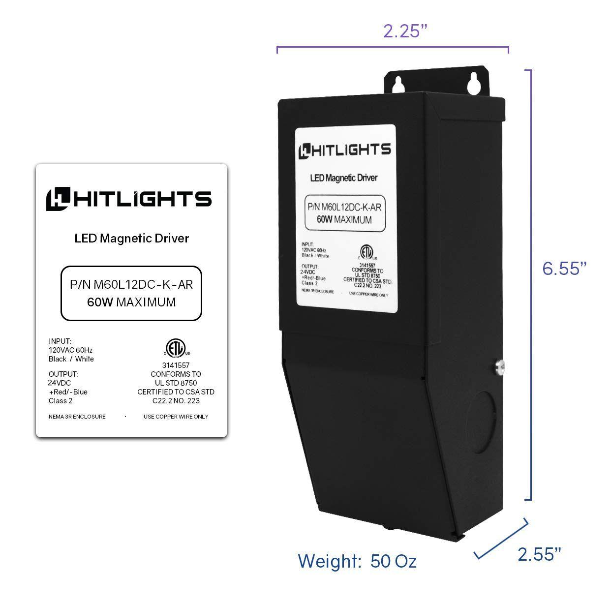 Dimmable Driver 60w 2 5a Magnetic 110v Ac24v Dc Transformer Low Voltage Power Supply For Led Strip Ligh Kitchen Cookware Sets Led Strip Lighting Strip Lighting