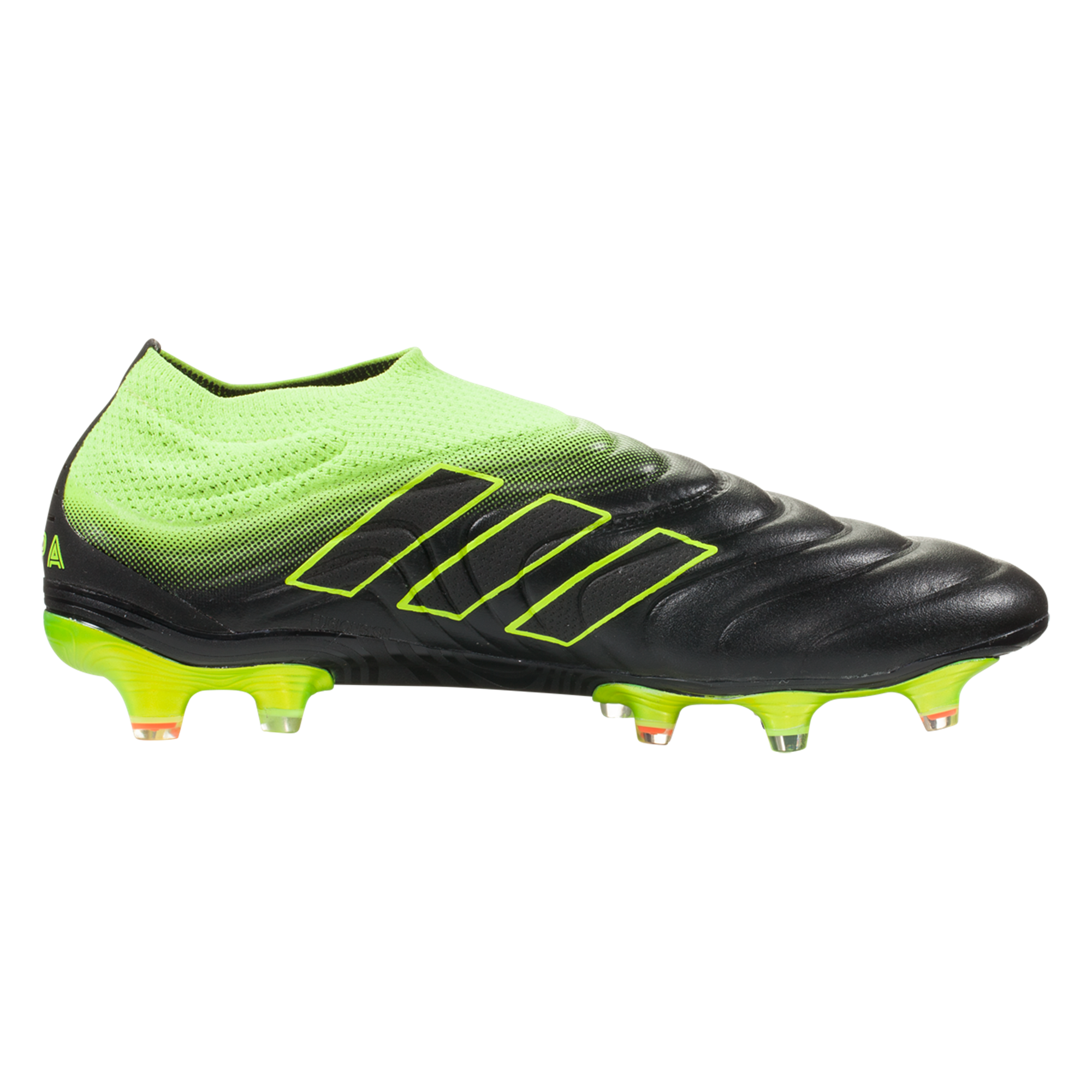 Adidas Copa 19 Fg Firm Ground Soccer Cleat Black Yellow Black Football Boots Soccer Cleats Cleats