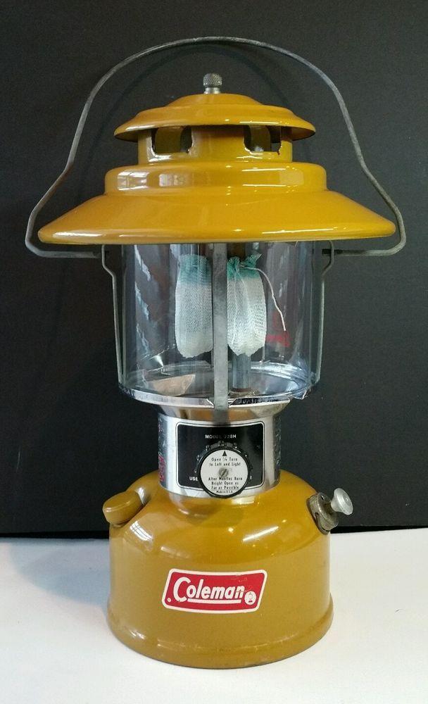 AMAZING CONDITION Vintage Coleman gold bond Lantern 228H 4