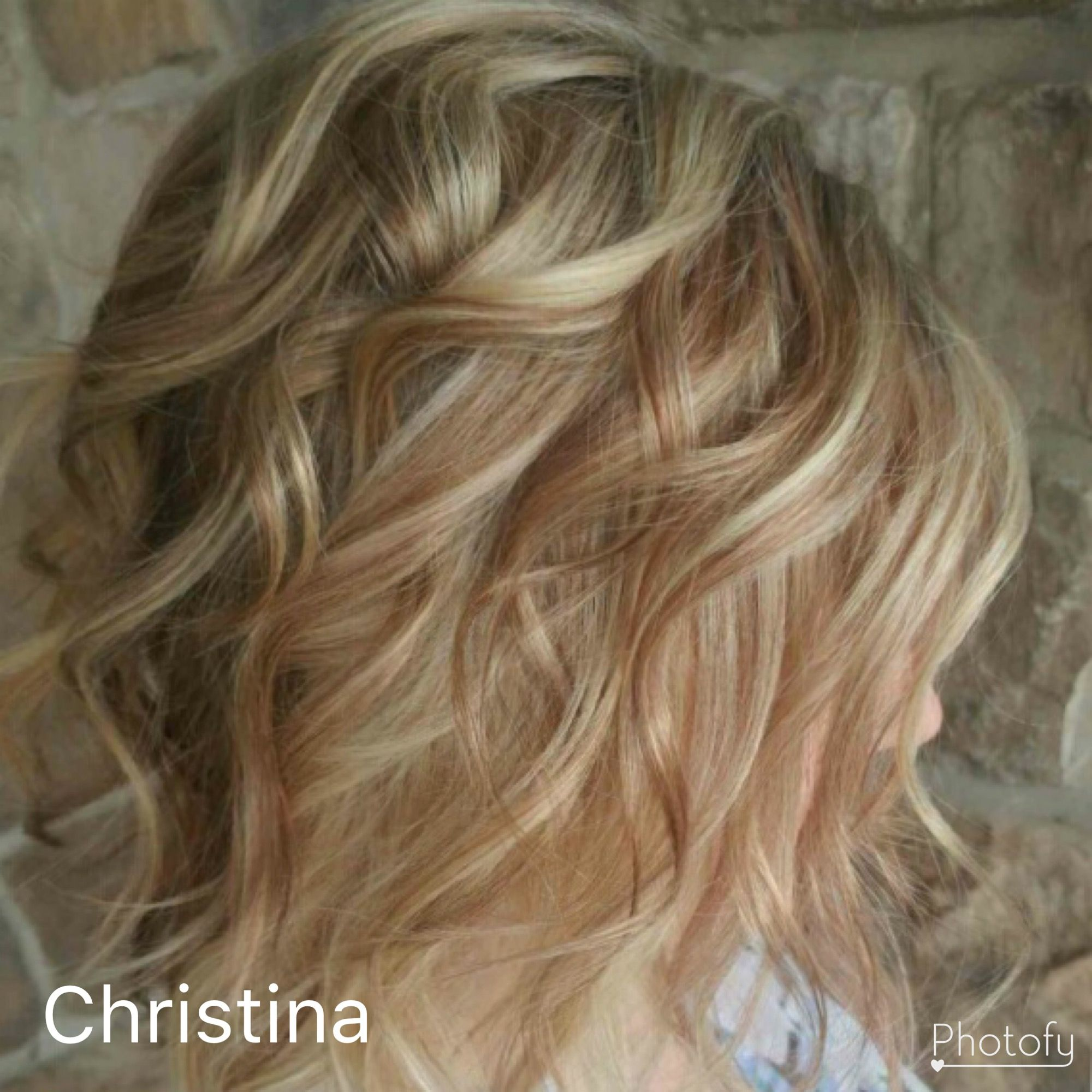 Blonde with Rose Gold