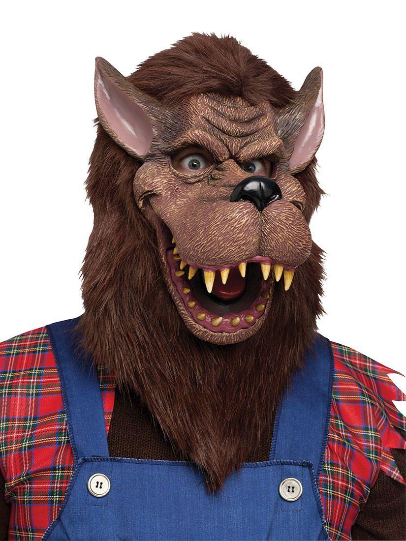 Big Bad Wolf Costume Mask   Men Costumes Ideas   Pinterest   Big ...