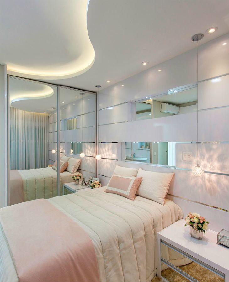 Quartos brancos decorados e apaixonantes para voc se for Dormitorio principal m6 deco