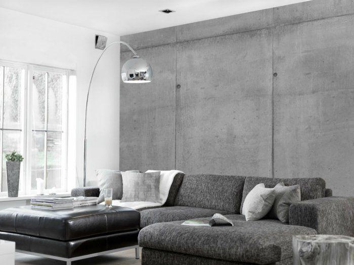 Inneneinrichtungsideen Mit Beton, Die 2017 Besonders Modern Und Attraktiv  Für Die Praktische Und Hochwertige Inneneinrichtung Von Wohnplänen