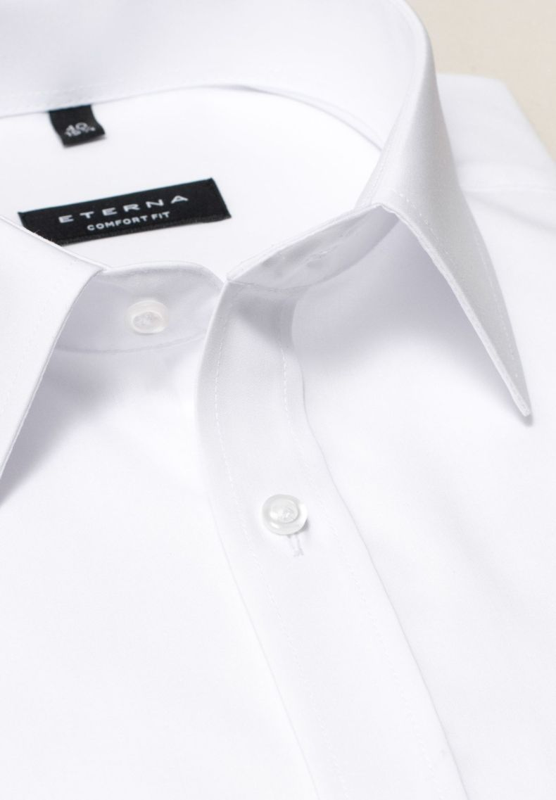 Eterna Langarm Hemd Comfort Fit Herren Weiss Grosse 53 54 Langarm Hemd Eterna Hemden