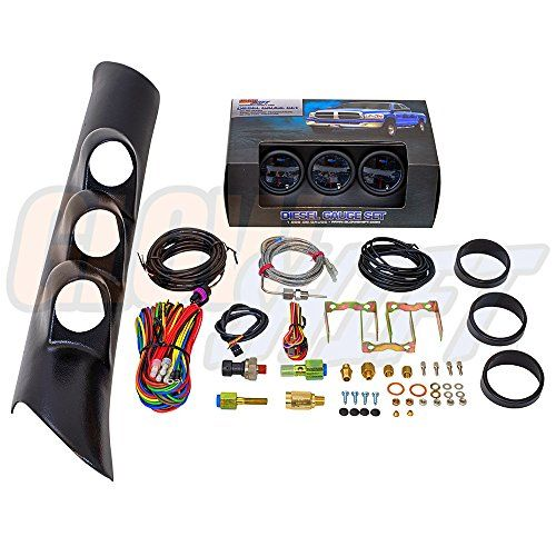 GlowShift 1998 2002 Dodge Ram Diesel Package w Tinted 7 Color Boost