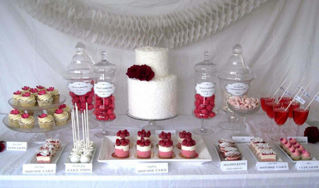 wedding dessert table idea wwwmadampaloozaemporiumcom wwwfacebookcommadampalooza