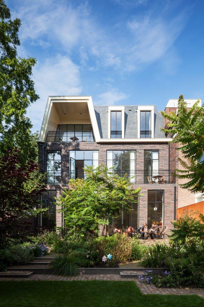 Stadsvilla Kralingen Moderne Huizen Van Architectenbureau