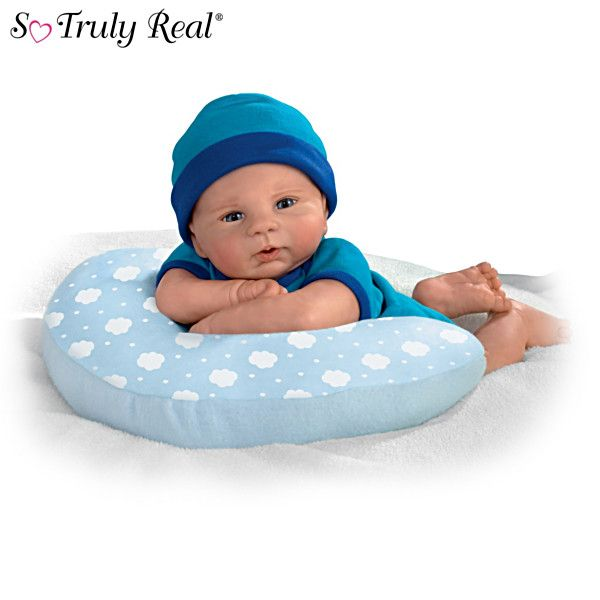 """Violet Parker """"Cuddle Buddy"""" Baby Doll With Cozy Pillow"""