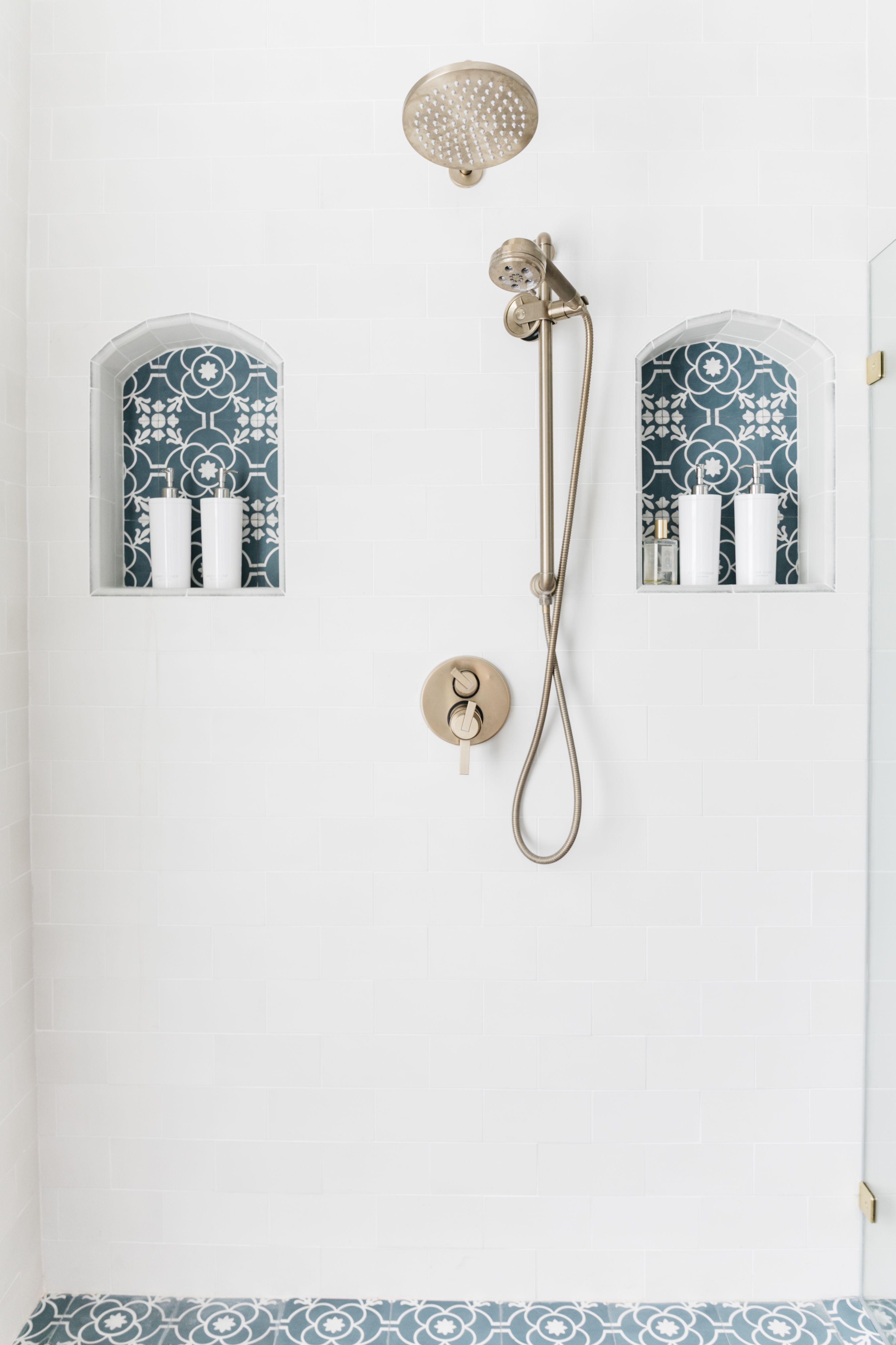 astounding calming modern minimalist bathroom white | Minimalist Shower Dispenser by Anthropologie in White ...