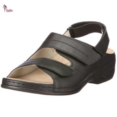 Melbourne Franziska 01007, Chaussures femme - Noir, 39.5 EUBerkemann