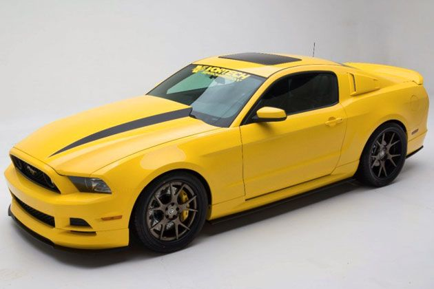 Ford Mustang Gt Yellow Jacket Front View