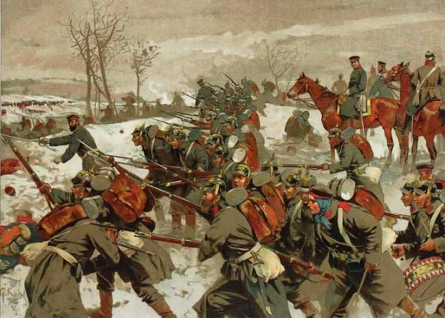 The Battle of the Lisaine, also known as the Battle of Héricourt was fought from 15 January to 17 January 1871 between Prussian and French forces.