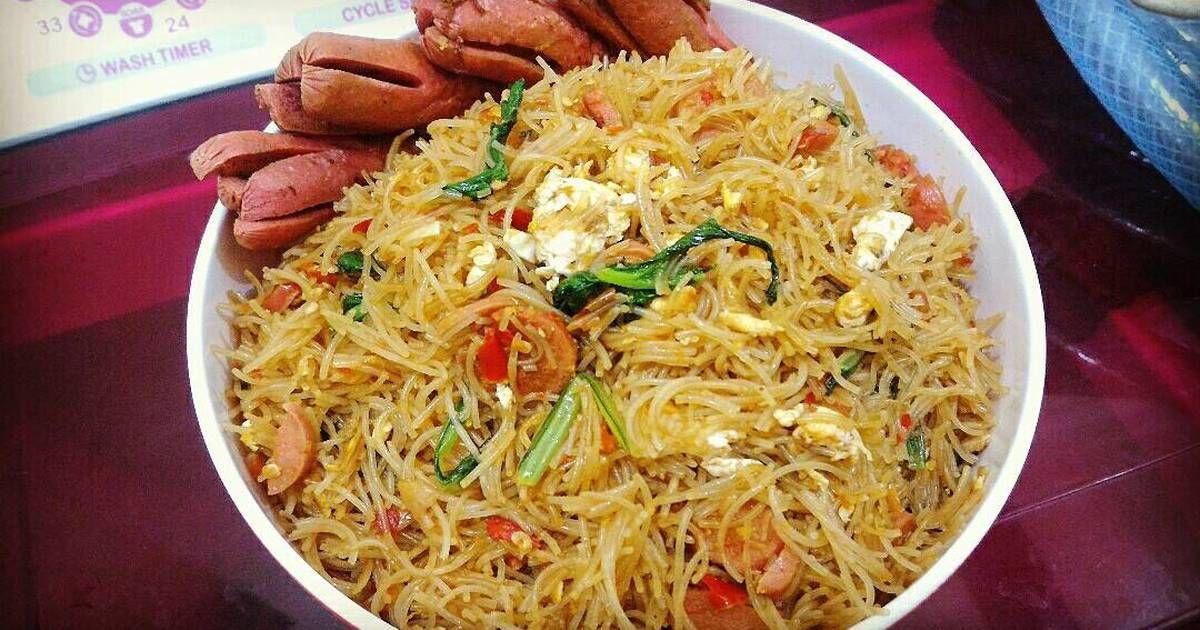 Resep Mie Hun Goreng Oleh Maya Reviana Resep Resep Masakan Malaysia Resep Masakan Resep