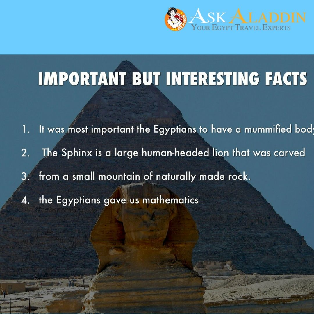 What is interesting in Egypt 7
