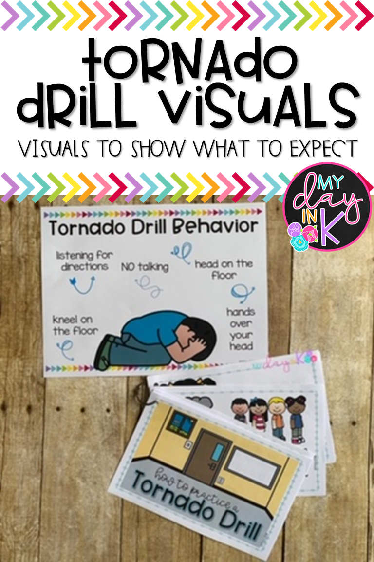 School Safety Drills Visuals and Procedures   My Day in K