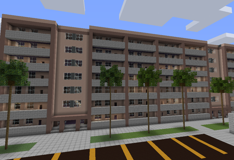 Minecraft Apartment Complex Huge Building Grabcraft Your Number One