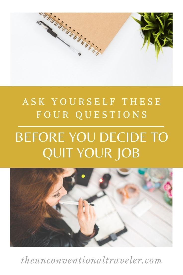 i quit my job and ruined my life