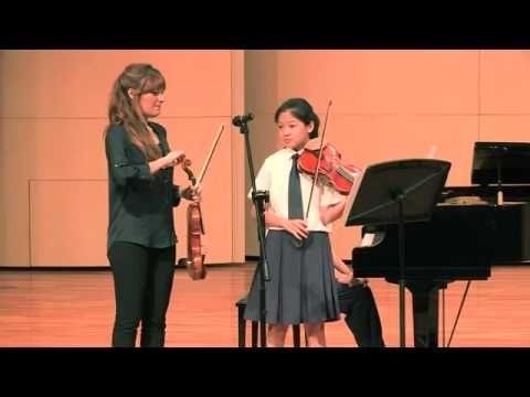▶ Nicola Benedetti Singapore Masterclass with Yuen Tin Wei from Dunman High School - YouTube Lalo Sinfonía Española
