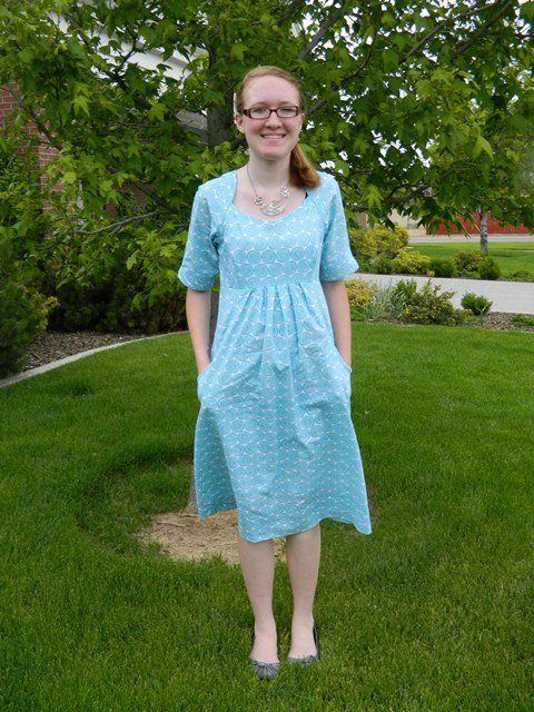 3f25613126e This is the finished graduation dress (Simplicity pattern 1800 ...