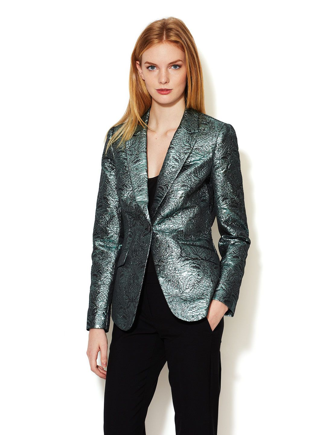 Avery Metallic Brocade Blazer  by Elizabeth and James at Gilt