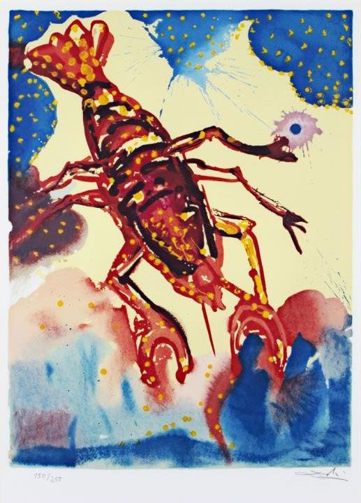 Salvador Dalí Illustrates the Twelve Signs of the Zodiac | Brain Pickings