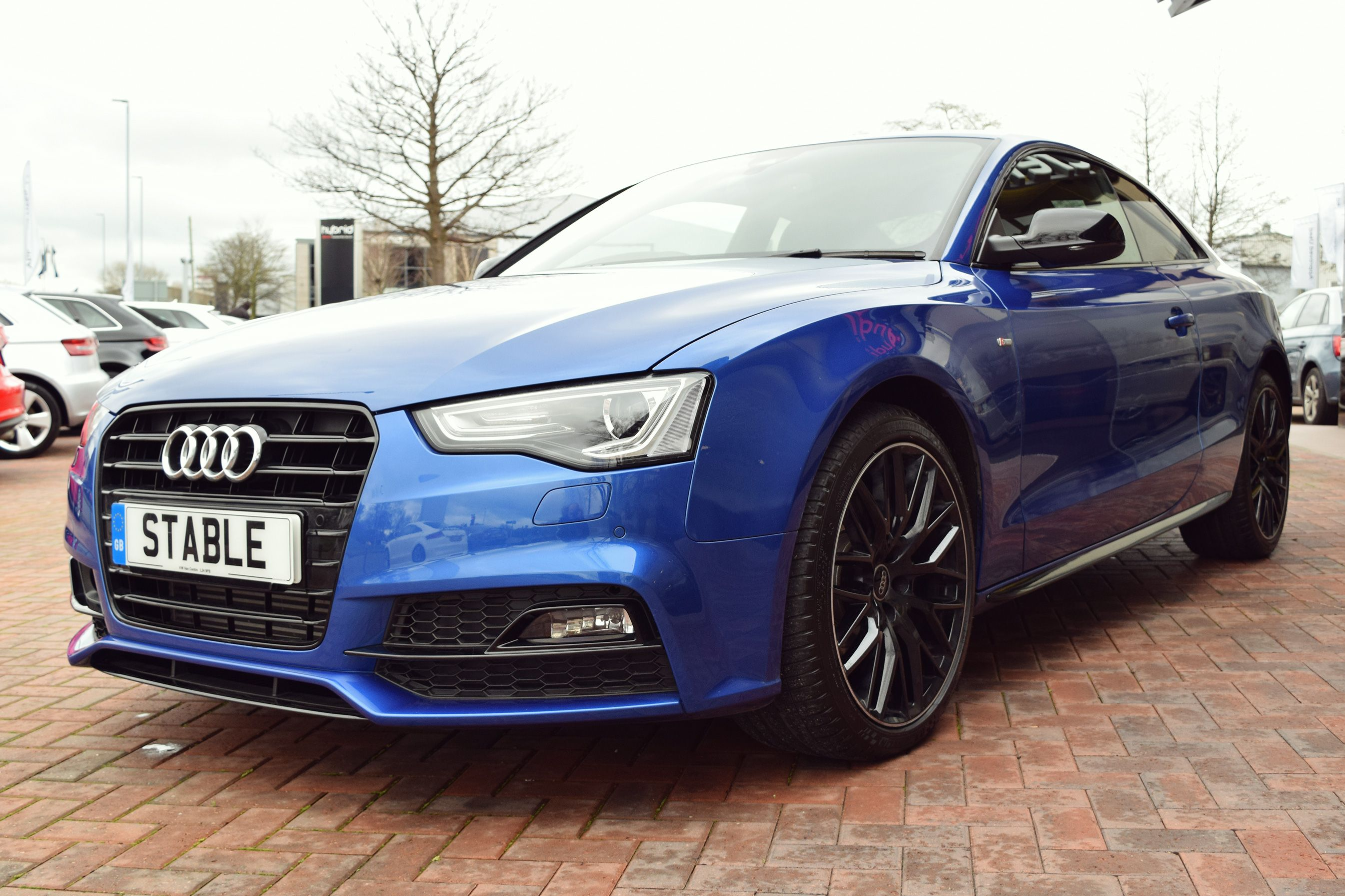 Audi A4 Coupe 2016 Audi A5 Coupe Black Edition Plus In Sepang Blue Cars Audi