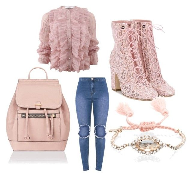 """""""Untitled #119"""" by najia17-2007 on Polyvore featuring Laurence Dacade, Accessorize, Givenchy and Chloe + Isabel"""