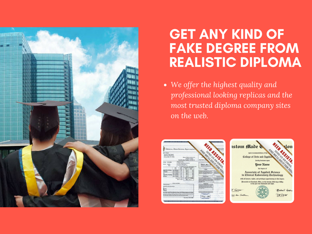 buying a fake high school diploma