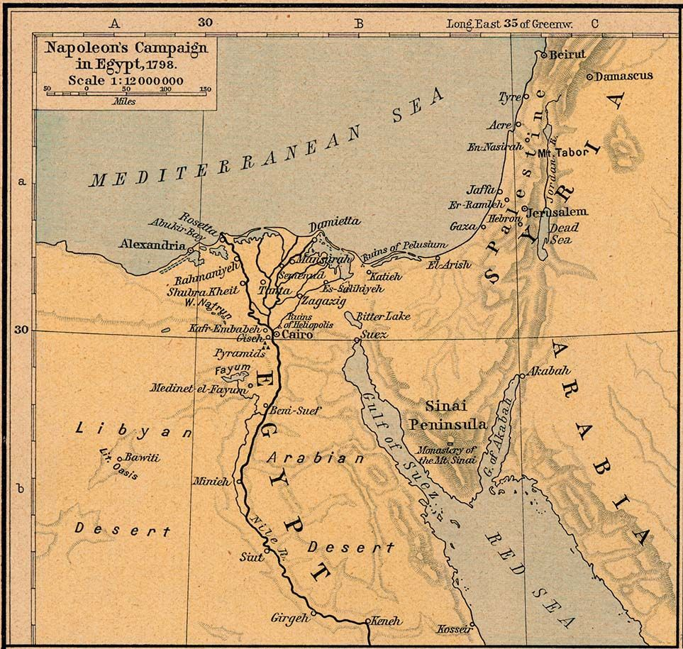 Egipto En Imagenes Mapas Y Planos II Egypt Pinterest Napoleon - Vintage map of egypt