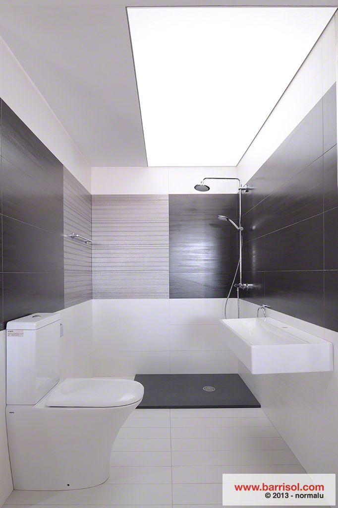 Barrisol Lumiere Ceiling Membranes used in bathroom