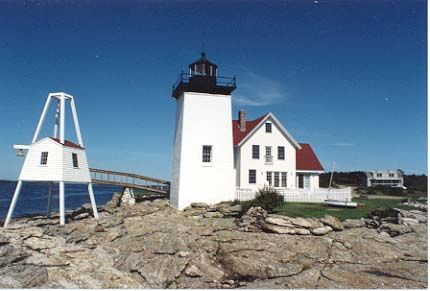 Hendrick's Head Light, West Southport, Maine