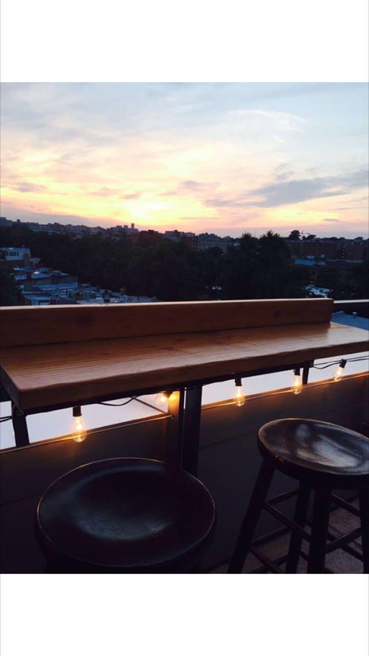 Balcony Bar Tops #balconybar