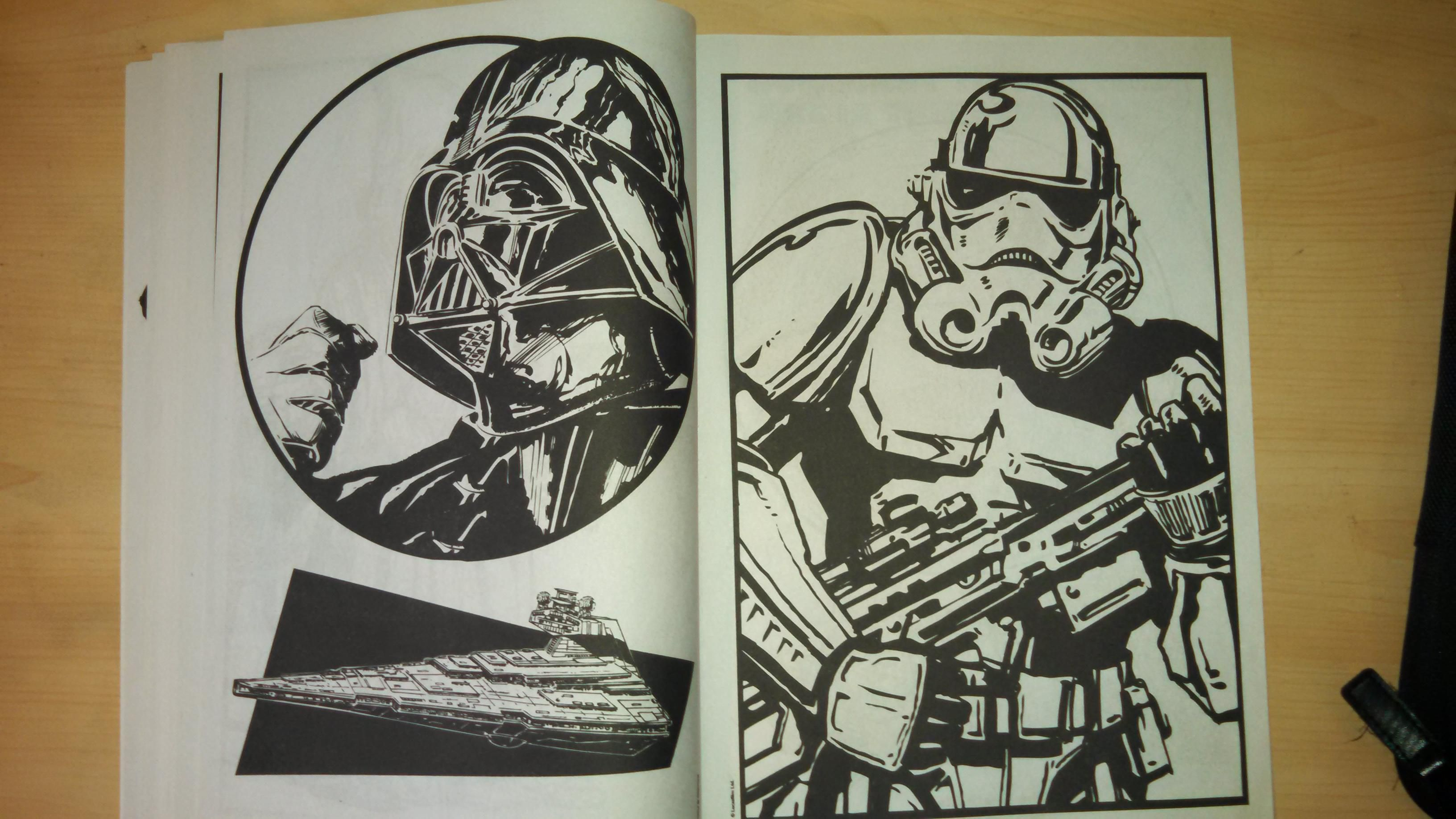 Worst coloring book ever (With images) Star wars love