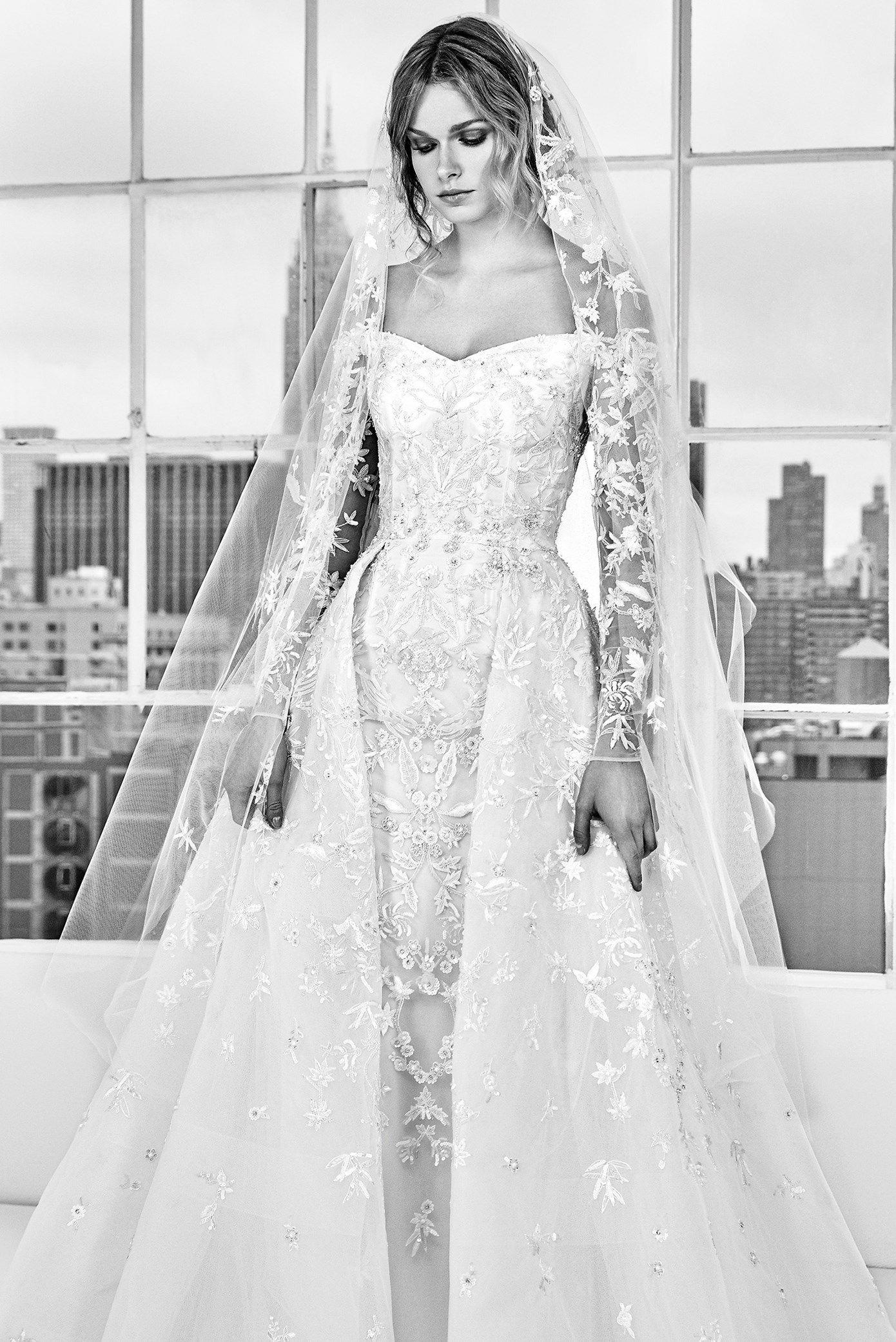 Zuhair Murad Spring 2018 Bridal Collection Designer Wedding Dresses Available At Designer B Wedding Dresses Zuhair Murad Zuhair Murad Bridal Wedding Dresses