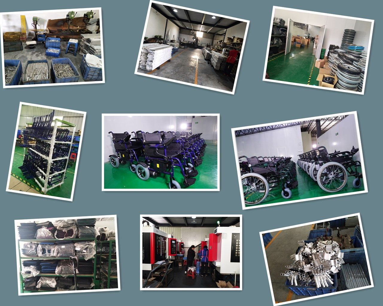 We are China Top Power wheelchair Manufacturer. Over 10