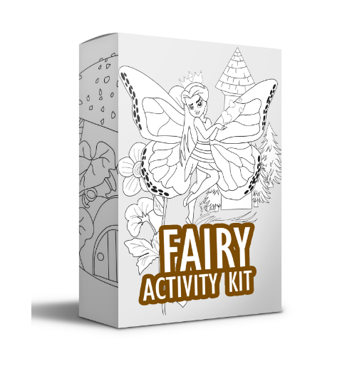 Fairy Activity Kit Coloring Book For Amazon Kdp Amazon Mba Etsy Zazzle Etc Activity Kits Fairy Coloring Coloring Books