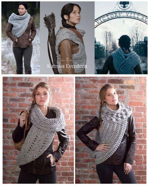 Truebluemeandyou Diy Knit Or Crochet Katniss Dizzymaiden