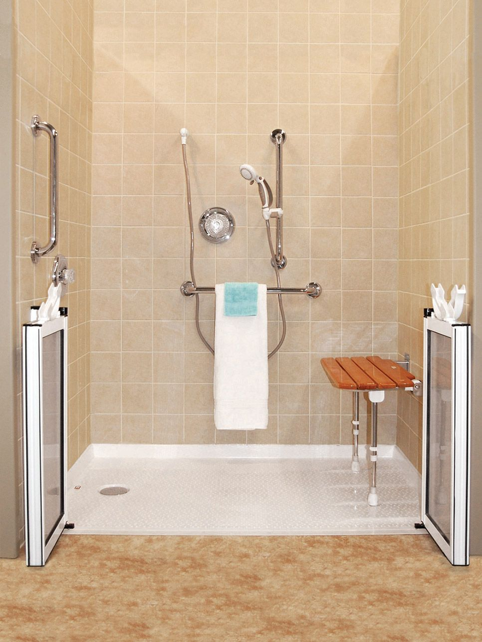 Get A Sparkling New Bathroom Home Improvement Projects Are An Excellent Way To Add Value And Handicap Bathroom Accessible Bathroom Design Accessible Bathroom