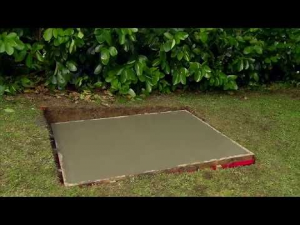 (1) How to Lay a Concrete Pad Mitre 10 Easy As YouTube