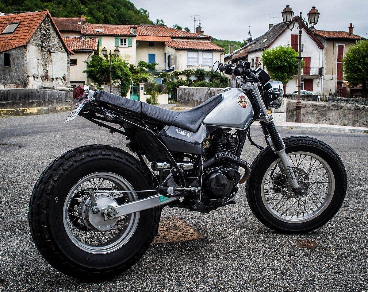 Yamaha TW 125 Street Tracker | Tw カスタム, 125cc バイク, バイク
