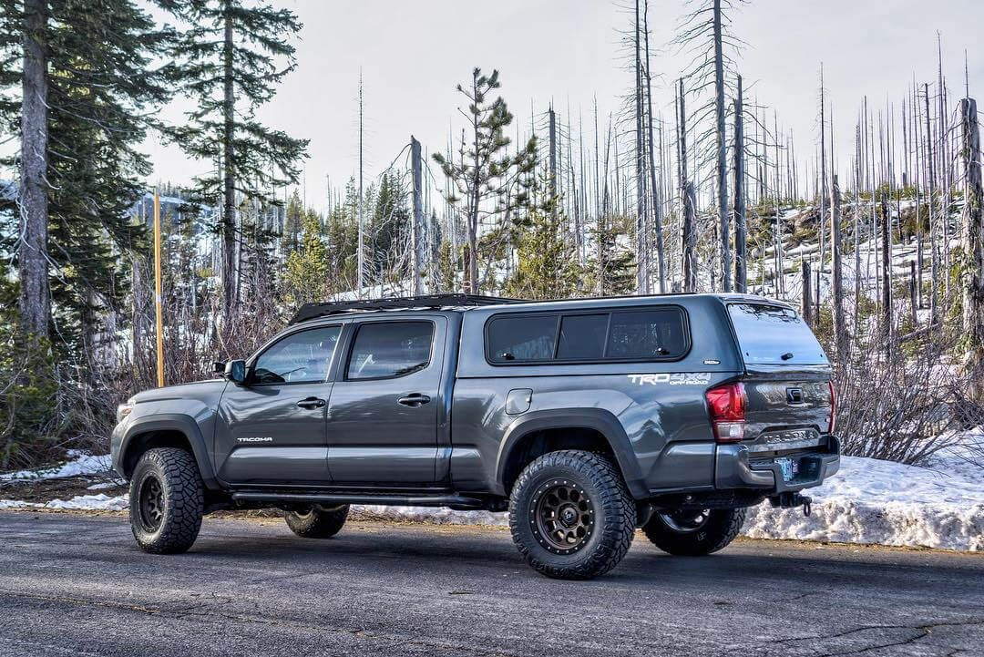 Toyota Tacoma Camper Shell By Lobo On Nice Ride In 2020