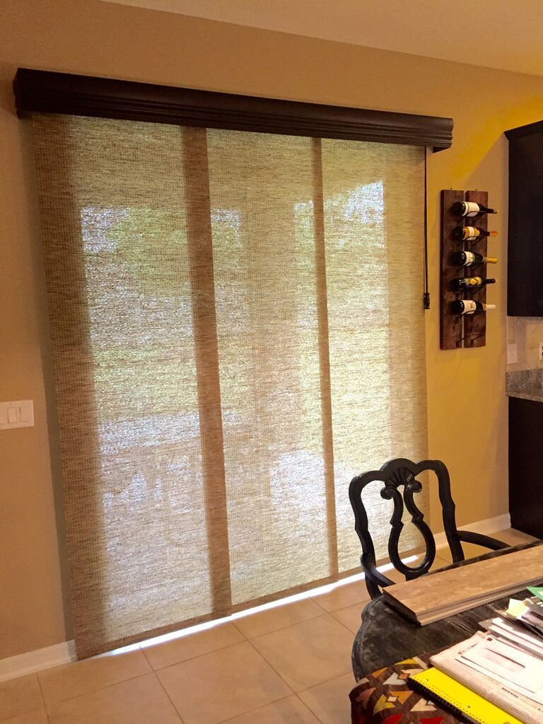 Sliding Panels Are A Great Alternative To A Vertical Blind
