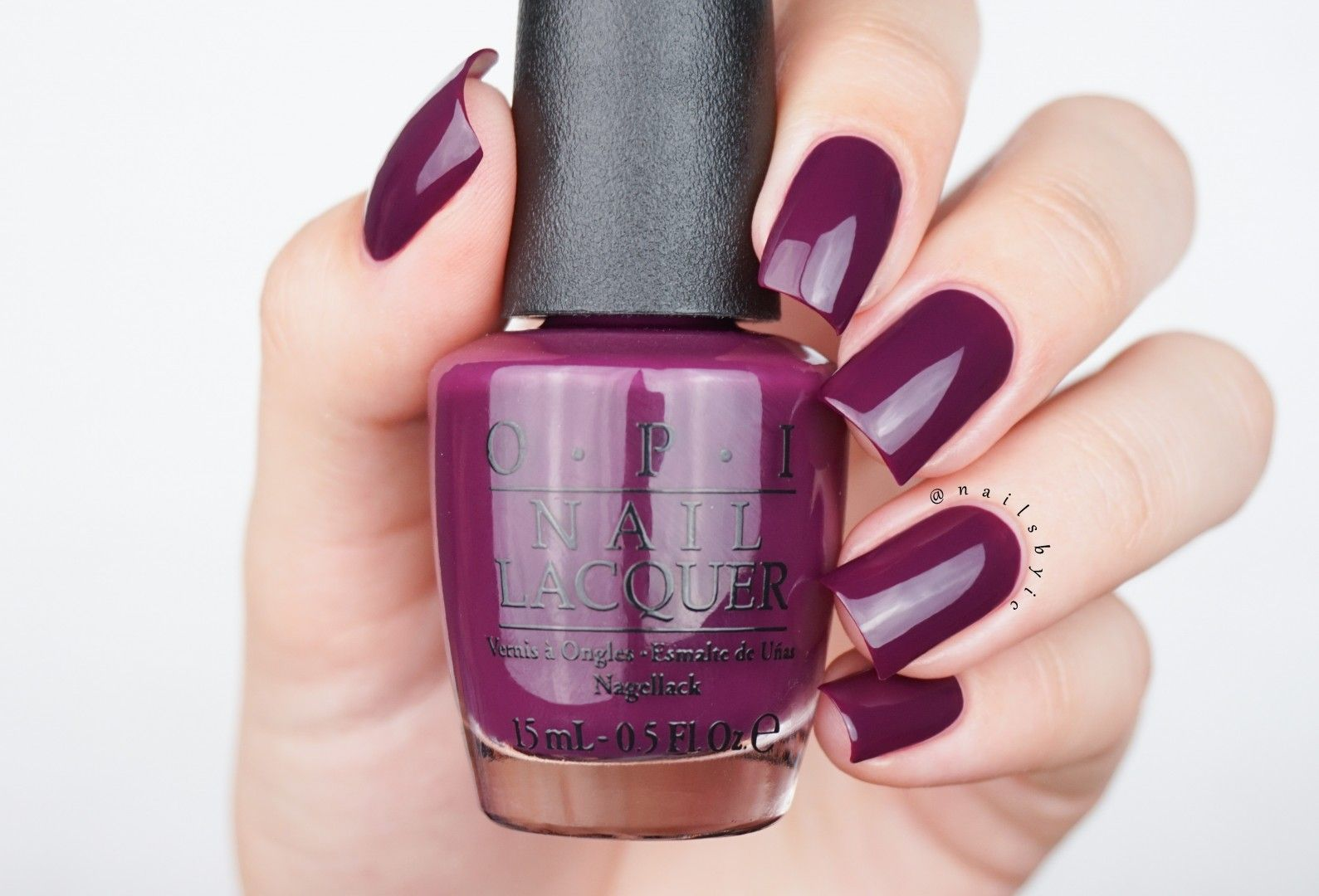 OPI Kerry Blossom swatch Washington DC collection 2016 fall winter a ...