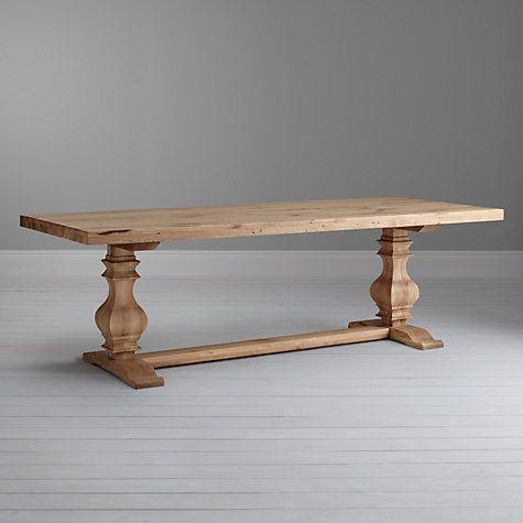 395af4d394d5 Love this table but want it in a darker stain. Frank Hudson Refectory 10-Seater  Dining Table Online at johnlewis.com