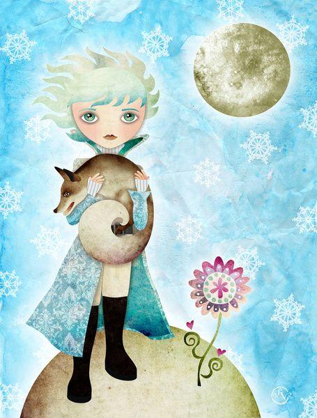 Book-Based Artwork   Childrens Art & Inspiration   The little prince, Prince, Artwork