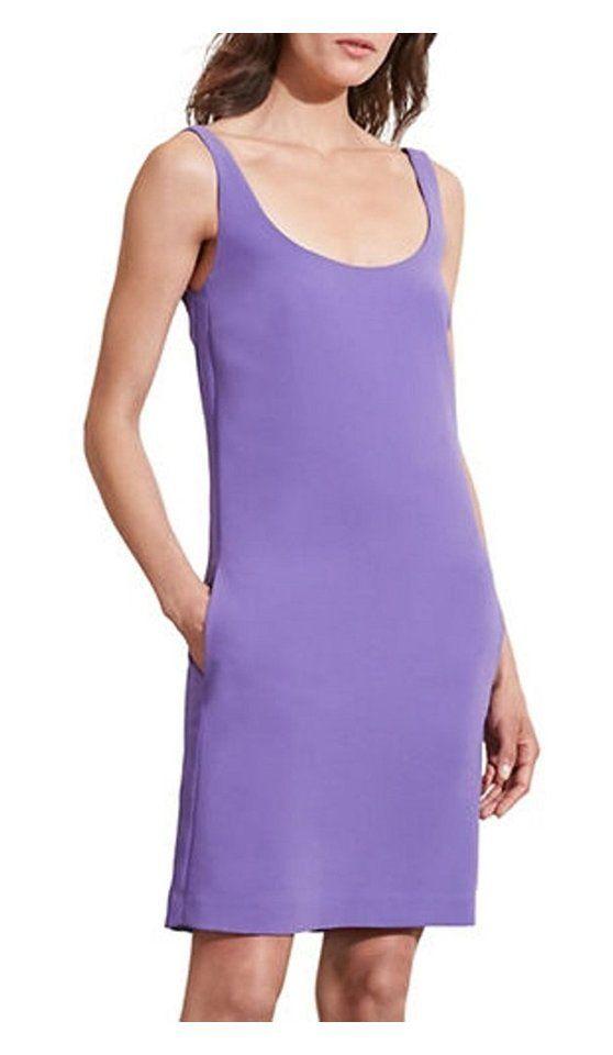 $69.95 - Lauren Ralph Lauren Women's Stretch Crepe Sleeveless Sheath Dress, Purple #champion