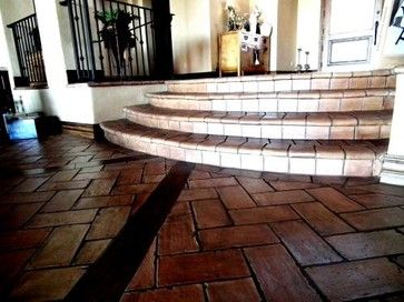 Steps and Staircases - staircase - phoenix - Mexican Tile ...