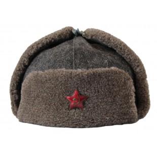 100 Genuine Wwii Soviet Ushanka Rkka Winter Hat Winter Hats Ushanka Hats