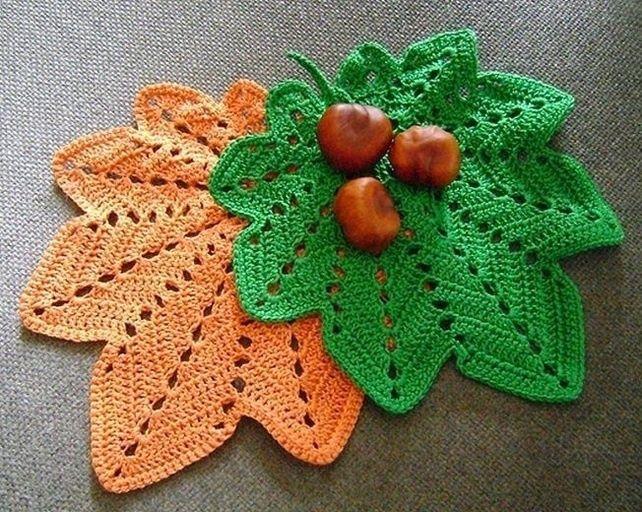 Crochet Potholder Pattern | DIY home decor | Pinterest | Blätter ...